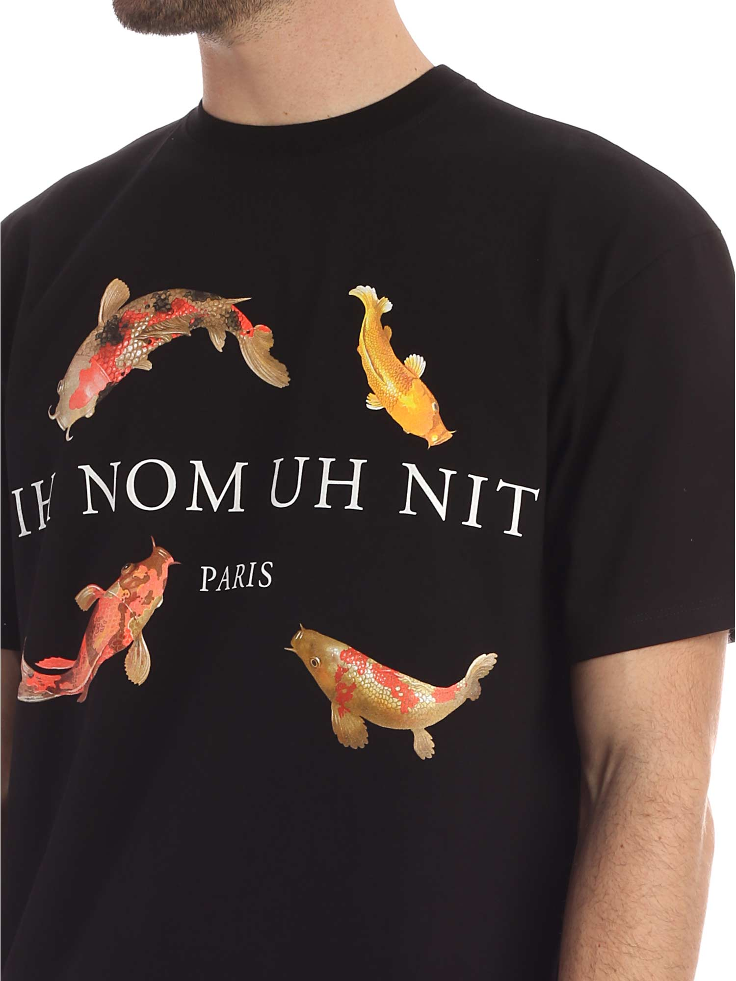 Picture of Ih Nom Uh Nit | T-Shirt Koi Fish Print