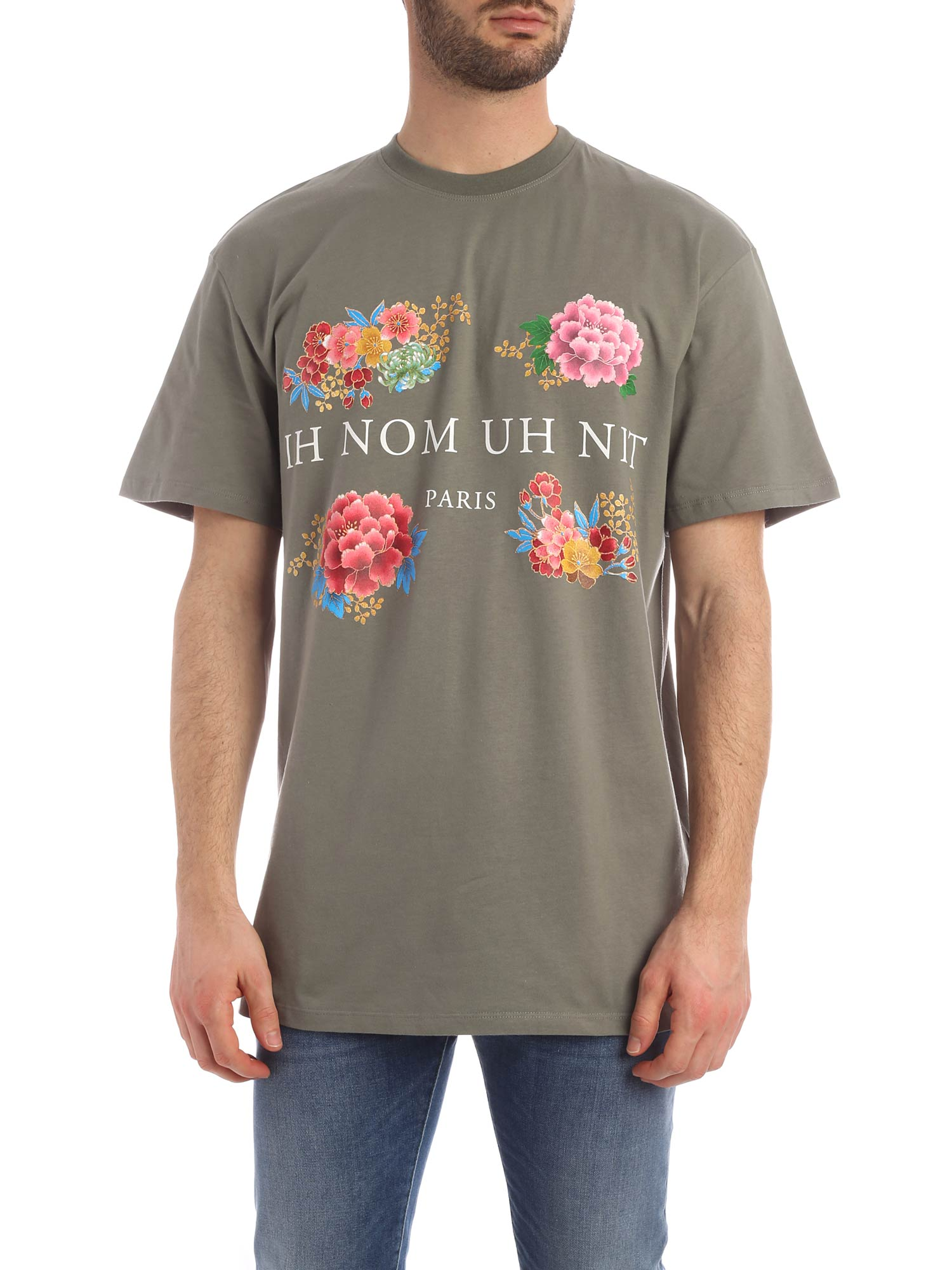 Picture of Ih Nom Uh Nit | T-Shirt Flowery Print