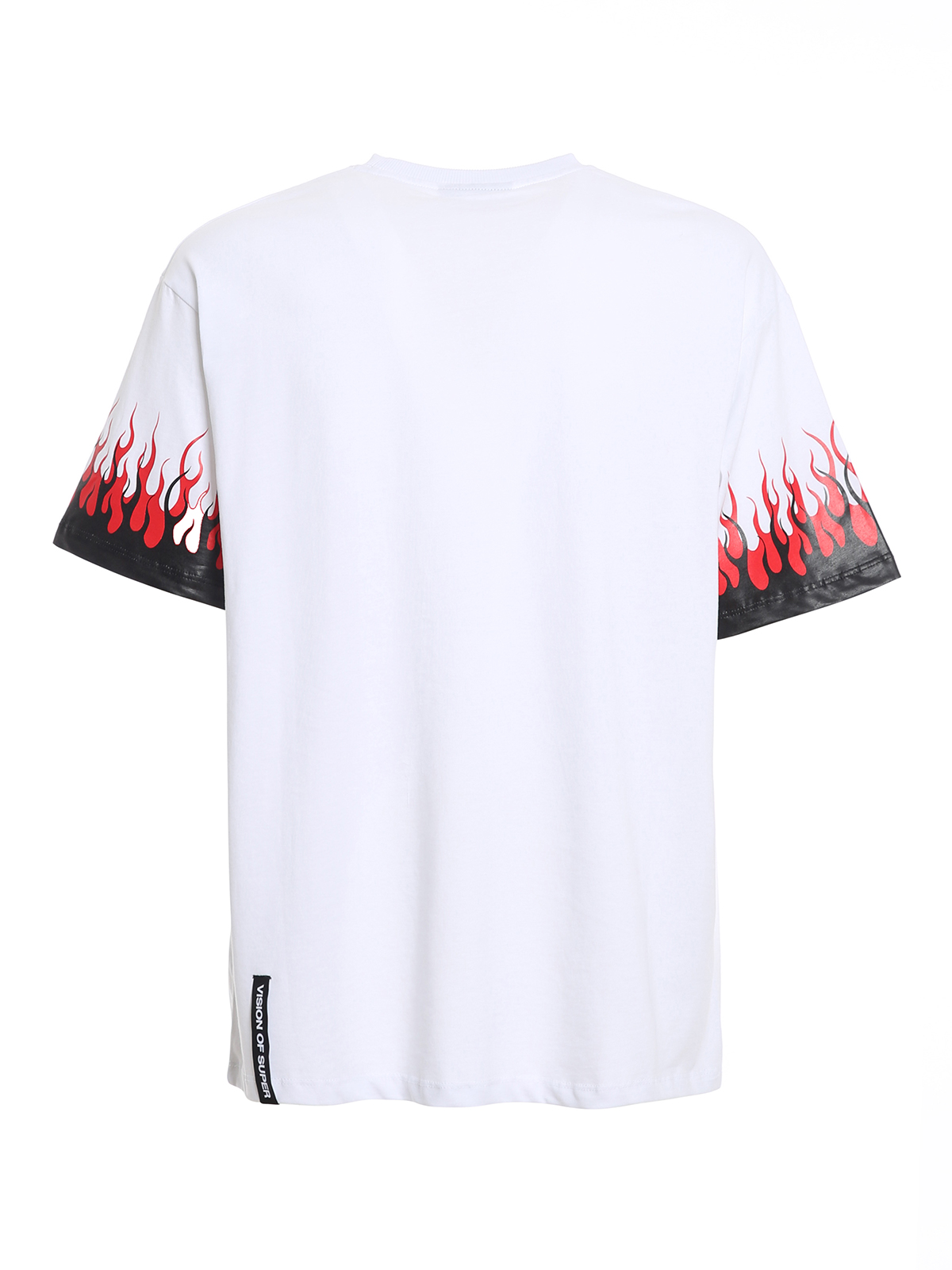 Picture of Vision Of Super   Tshirt Purple Double Flames