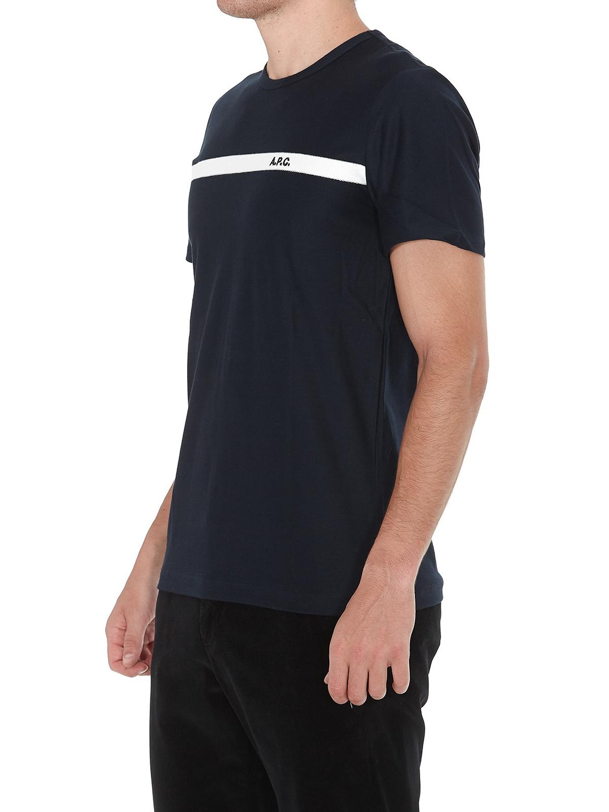 Picture of A.P.C. | T Shirt Yukata Color H
