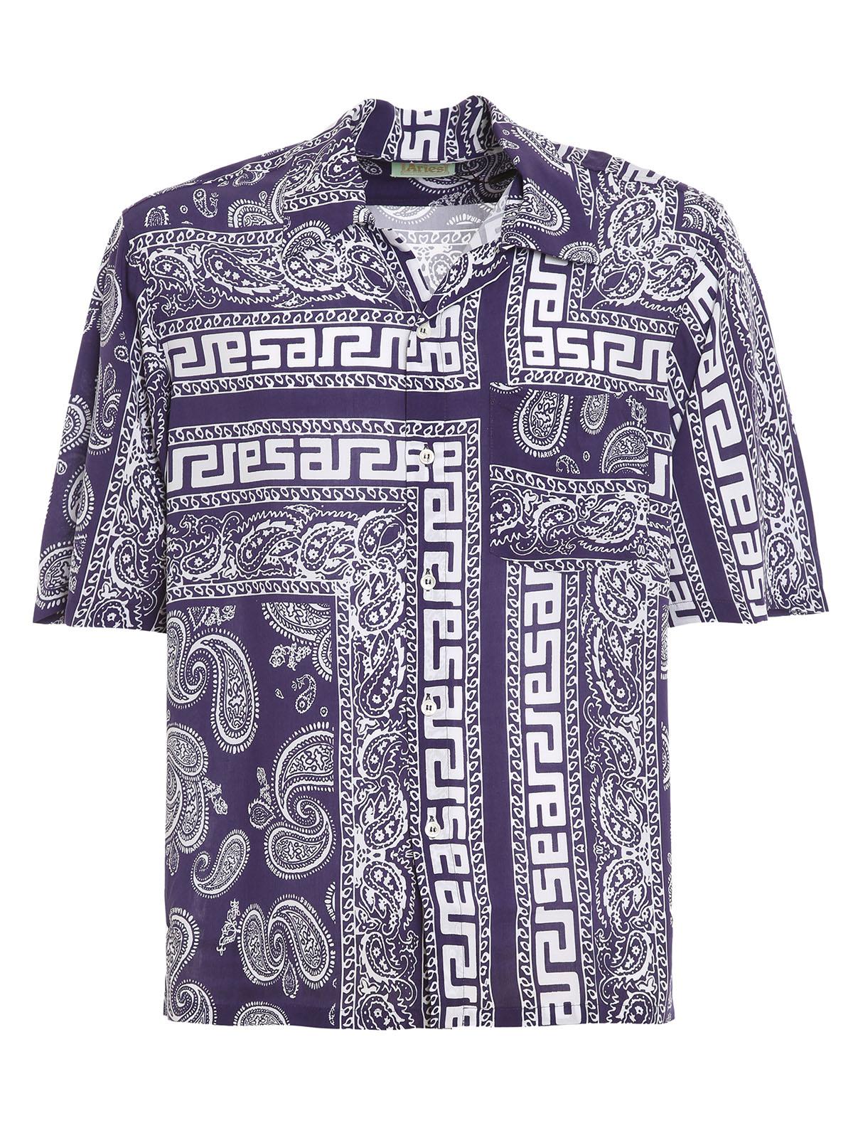 Immagine di Aries | Bandana Print Hawaiian Shirt