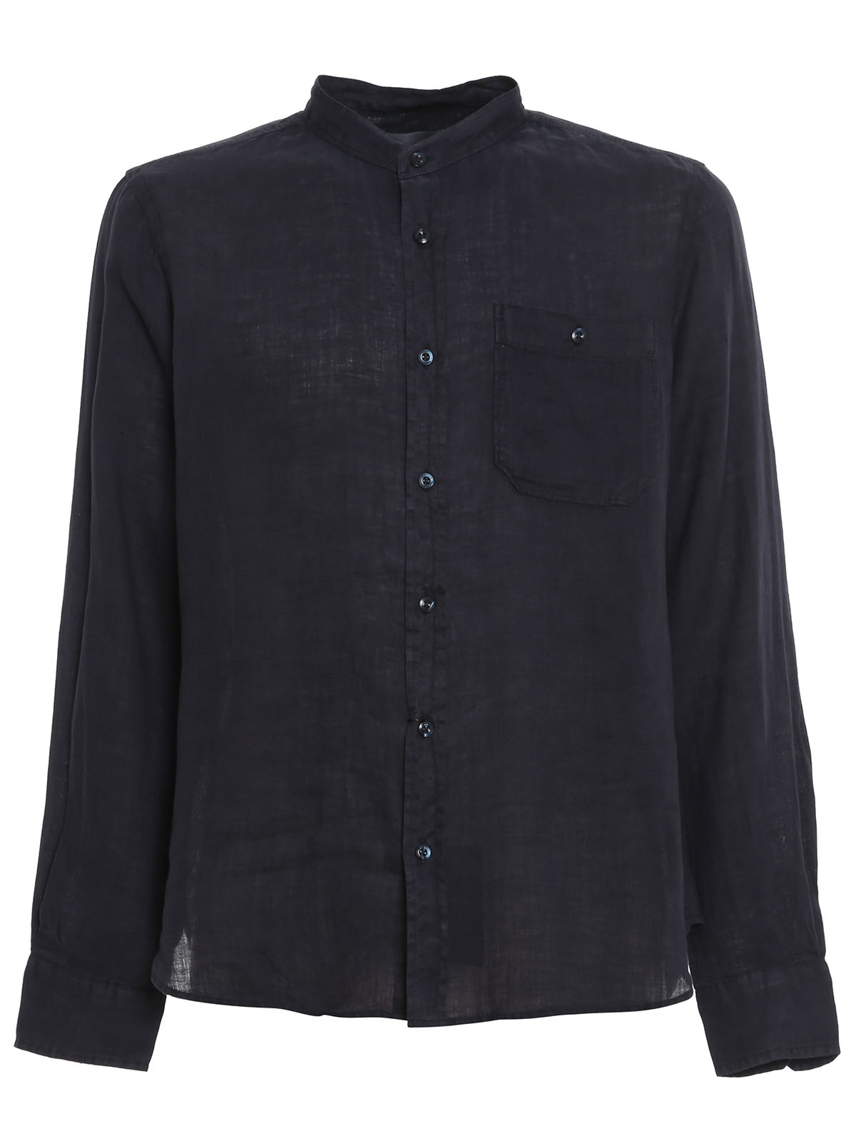 Immagine di Woolrich | Linen Band Collar Shirt