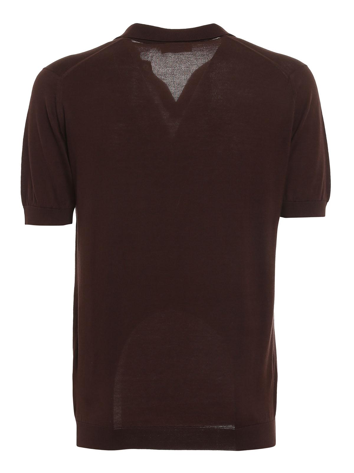 Picture of John Smedley | Noah Skipper Collar Shirt Ss