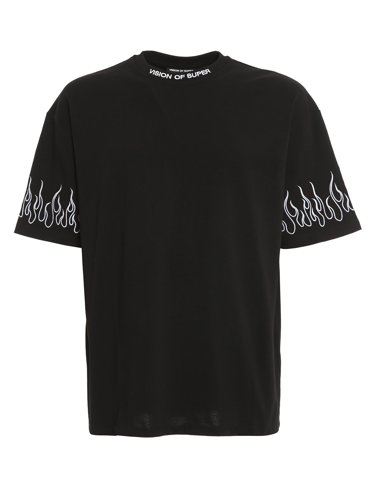 Picture of Vision Of Super | Tshirt Embroidered White Flame