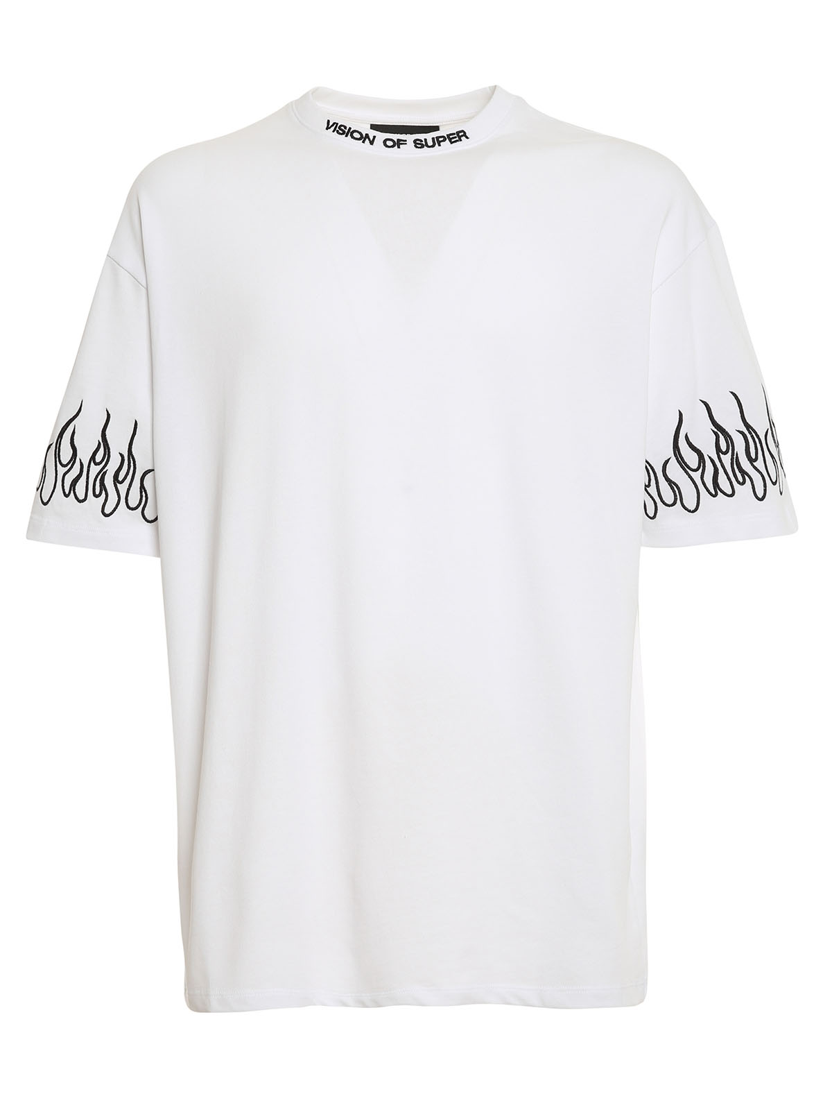 Picture of Vision Of Super | Tshirt Embroidered Black Flame