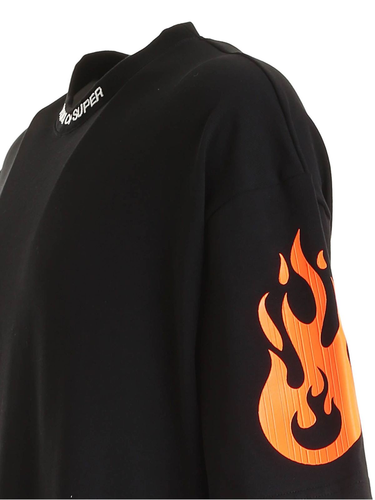 Picture of Vision Of Super | Tshirt Fire Orange Fluo