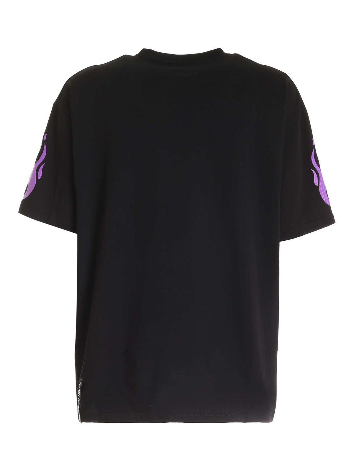 Immagine di Vision Of Super | Tshirt Fire Purple