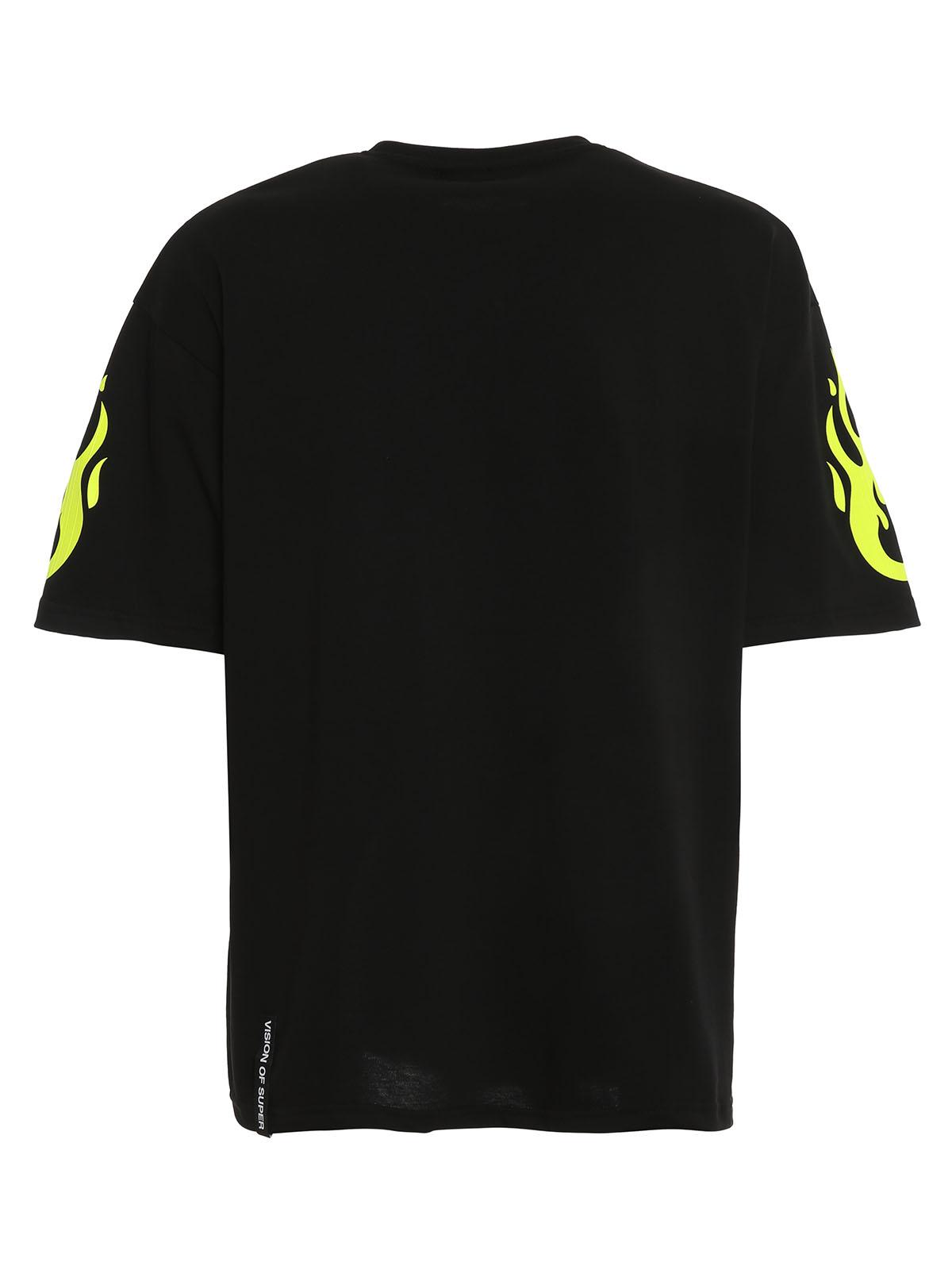 Immagine di Vision Of Super | Tshirt Fire Yellow Fluo