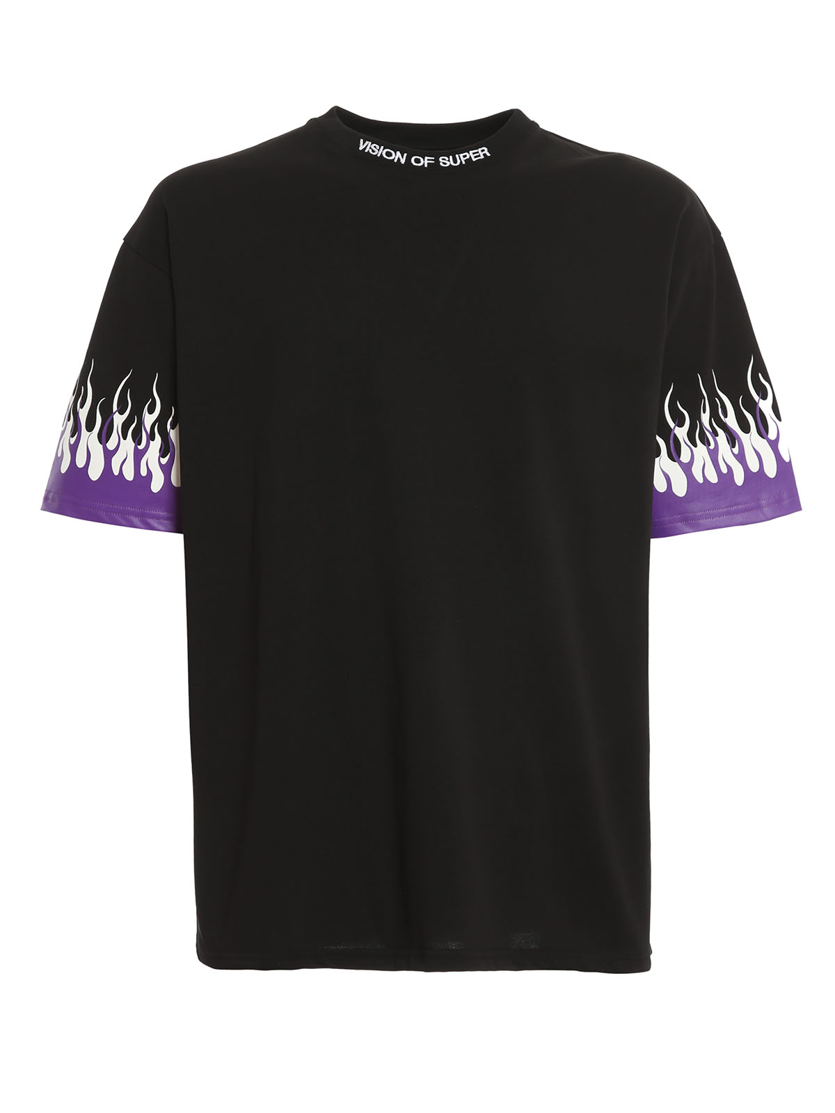 Picture of Vision Of Super | Tshirt Purple Double Flames