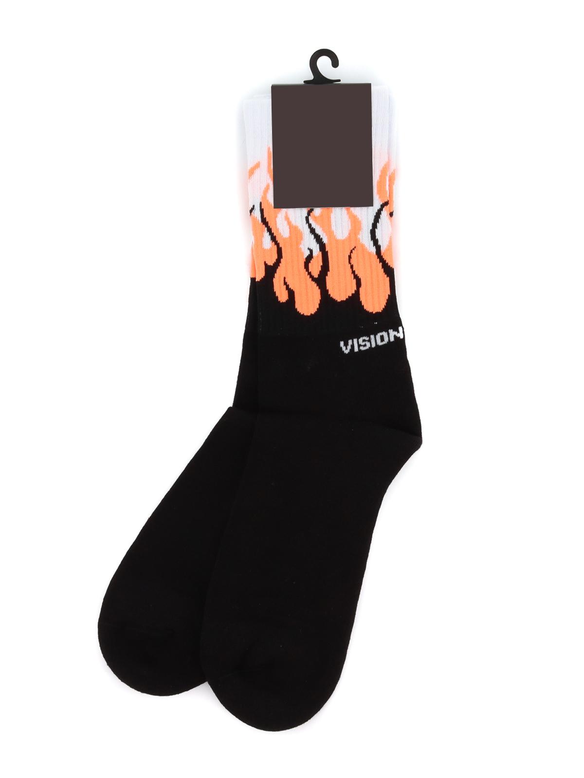 Immagine di Vision Of Super | Socks Orange Flames