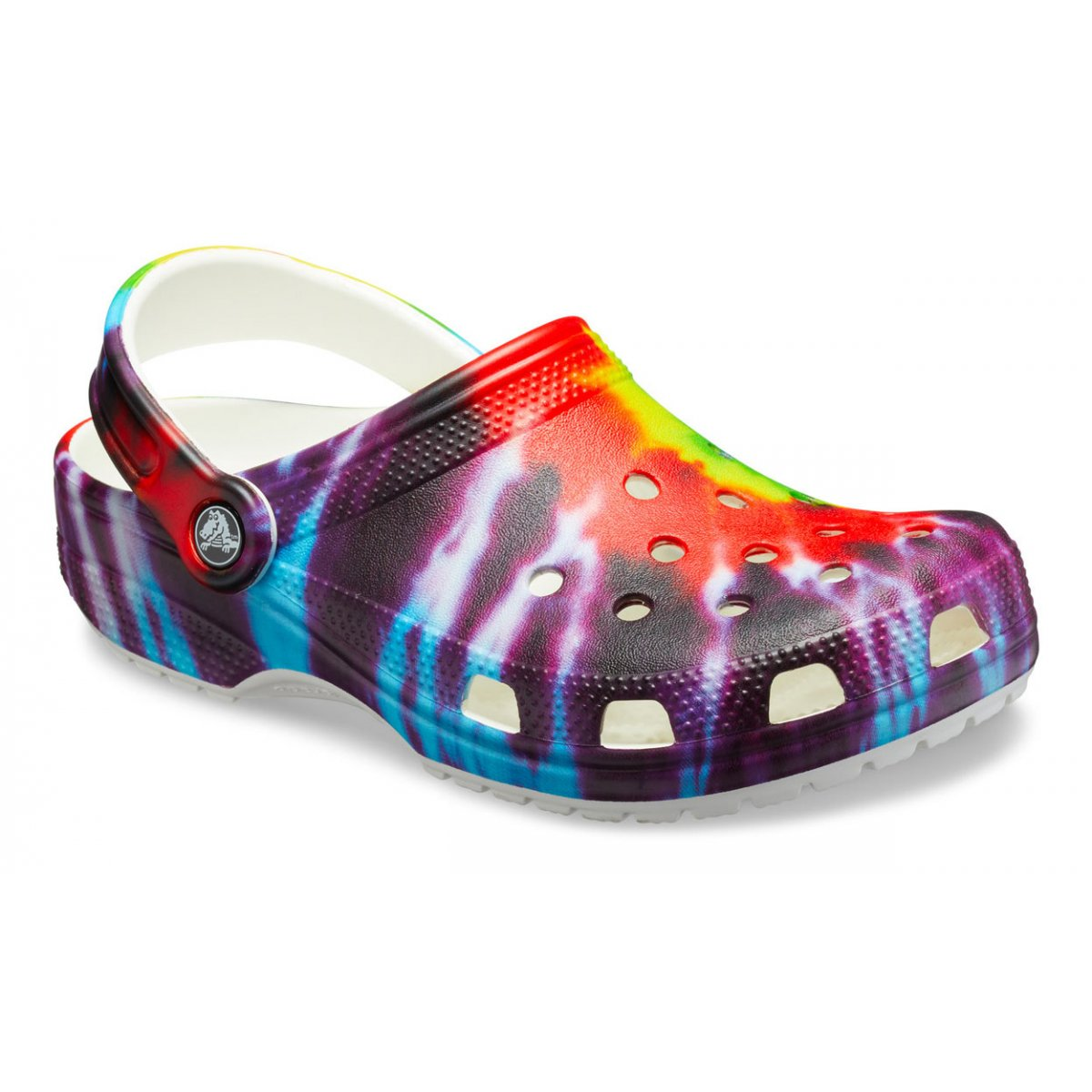 Picture of Crocs | Classic Tie Dye Graphic Clog