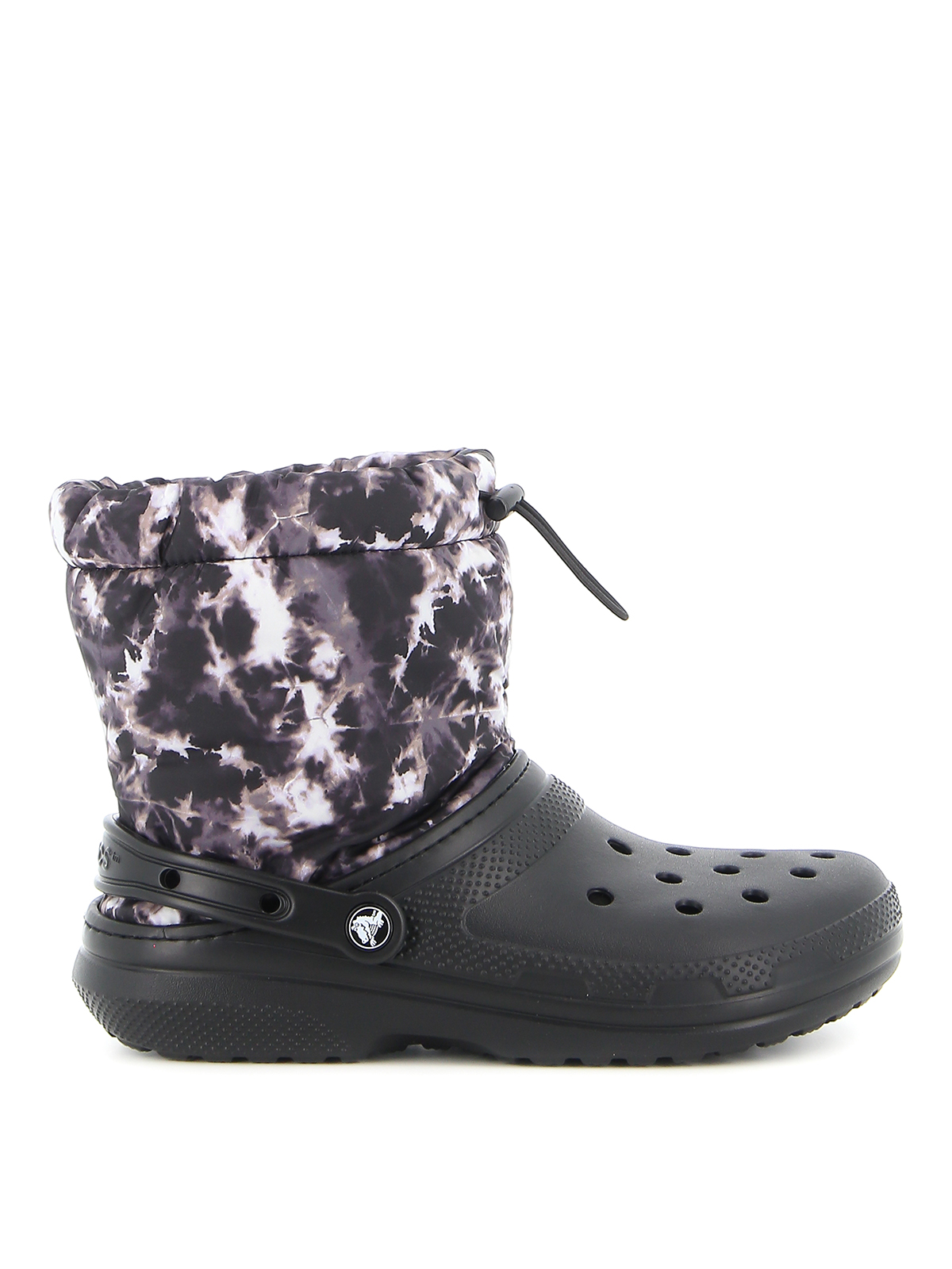 Picture of Crocs | Cls Lined Neo Puff Tiedye Boot