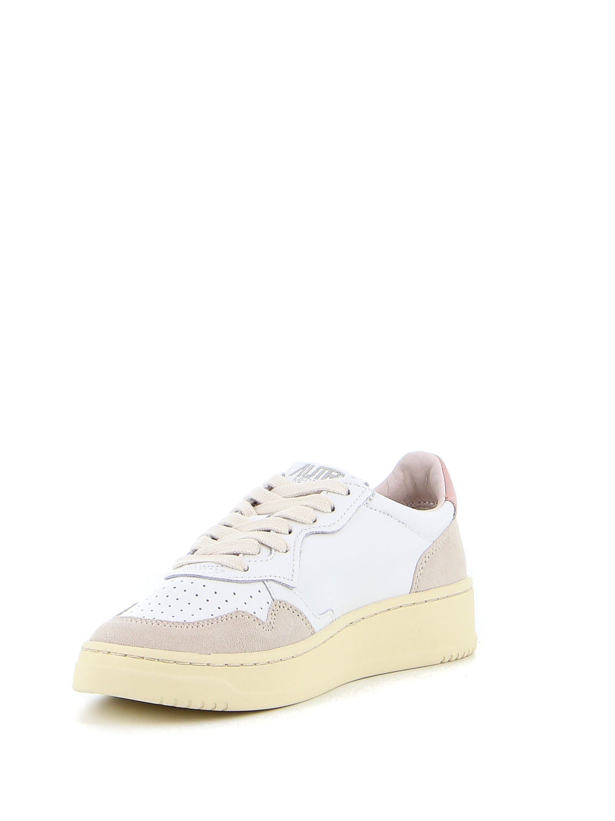 Picture of Autry | Autry 01 Low Leather Suede