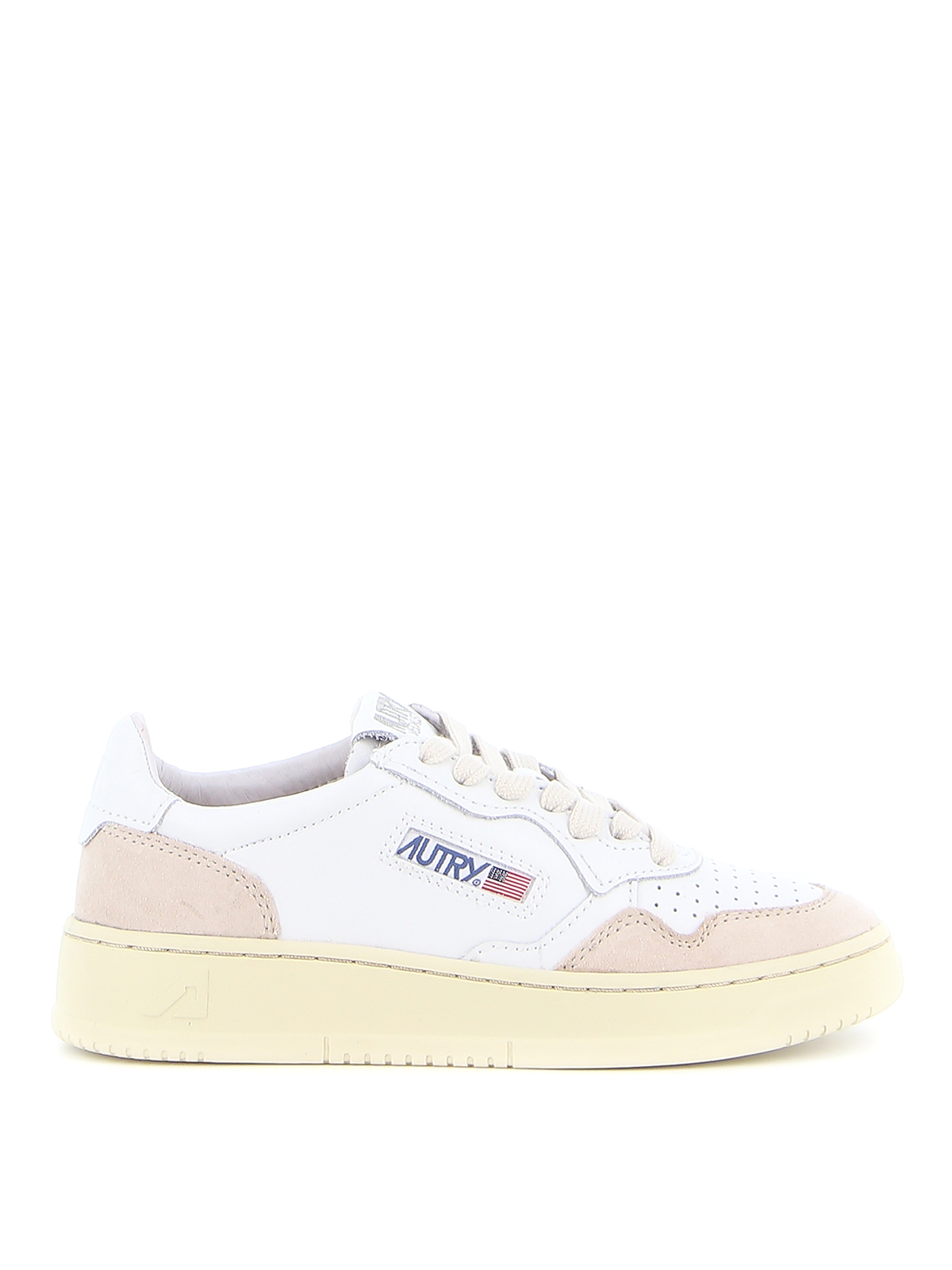 Picture of Autry   Autry 01 Low Leather Suede