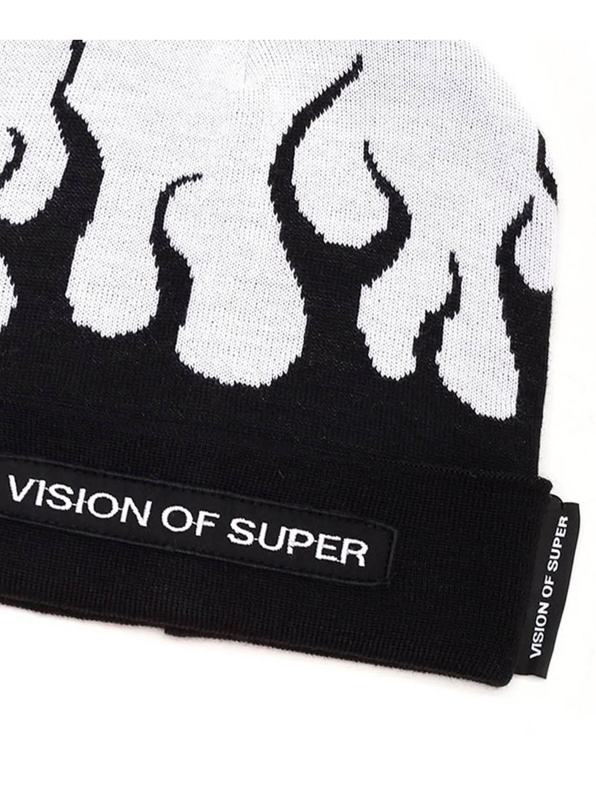 Immagine di Vision Of Super | Beanie With Red Flames