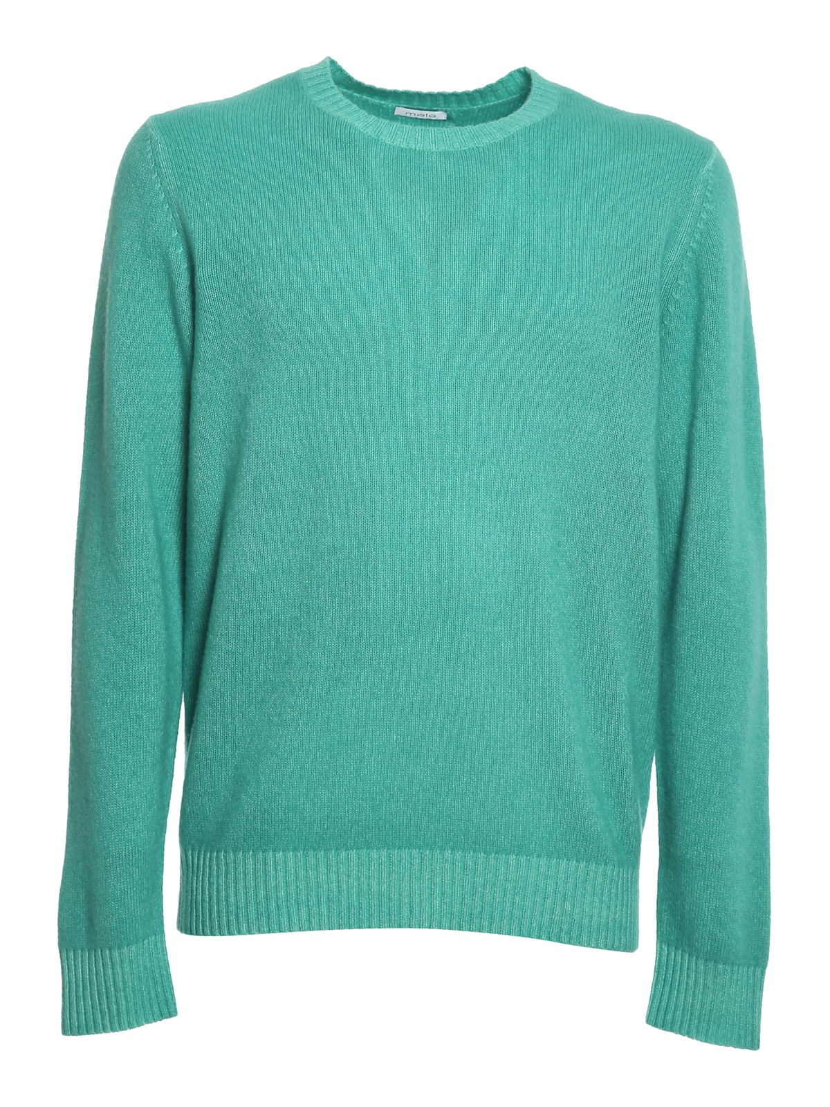 Picture of Malo | Round Neck Cashmere Dyed