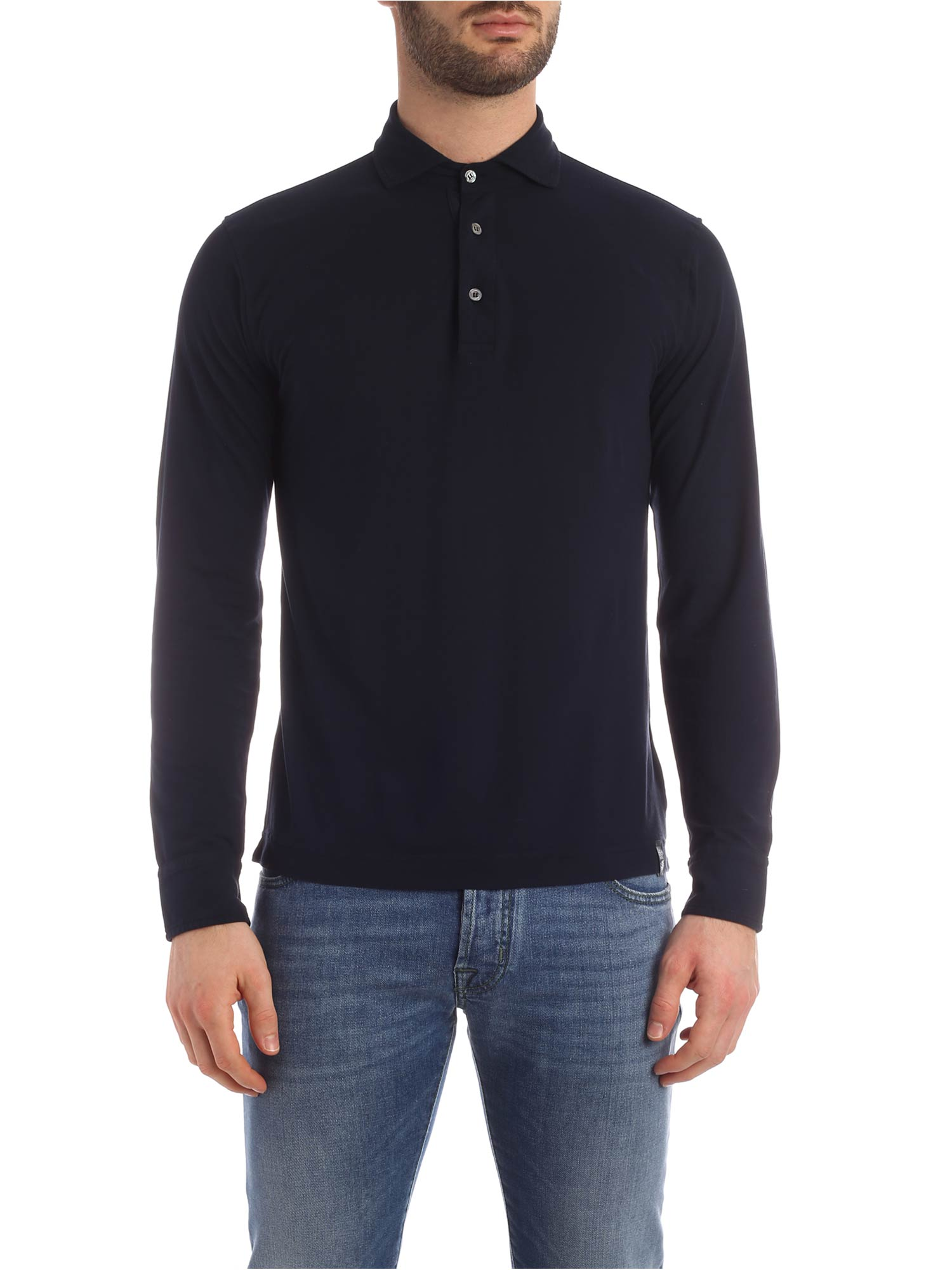 Picture of Drumohr | Polo Shirt  Ls