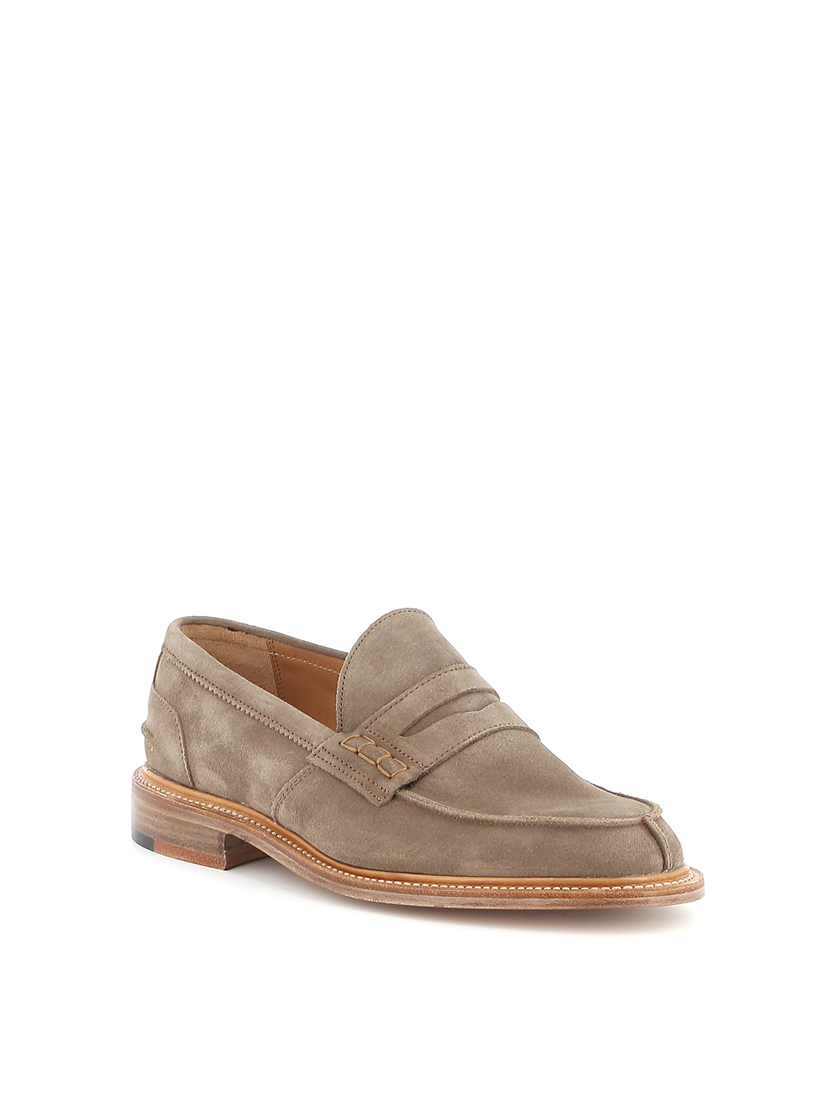 Picture of Trickers | James Penny Loafer Suede