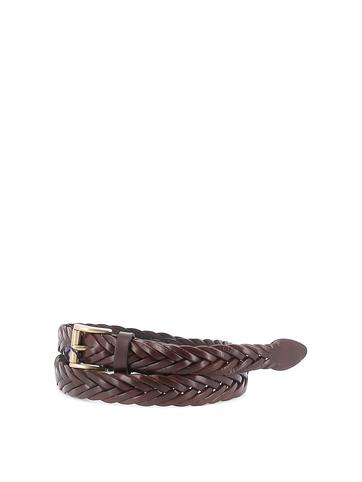Picture of Anderson`S | Leather Braid Belt