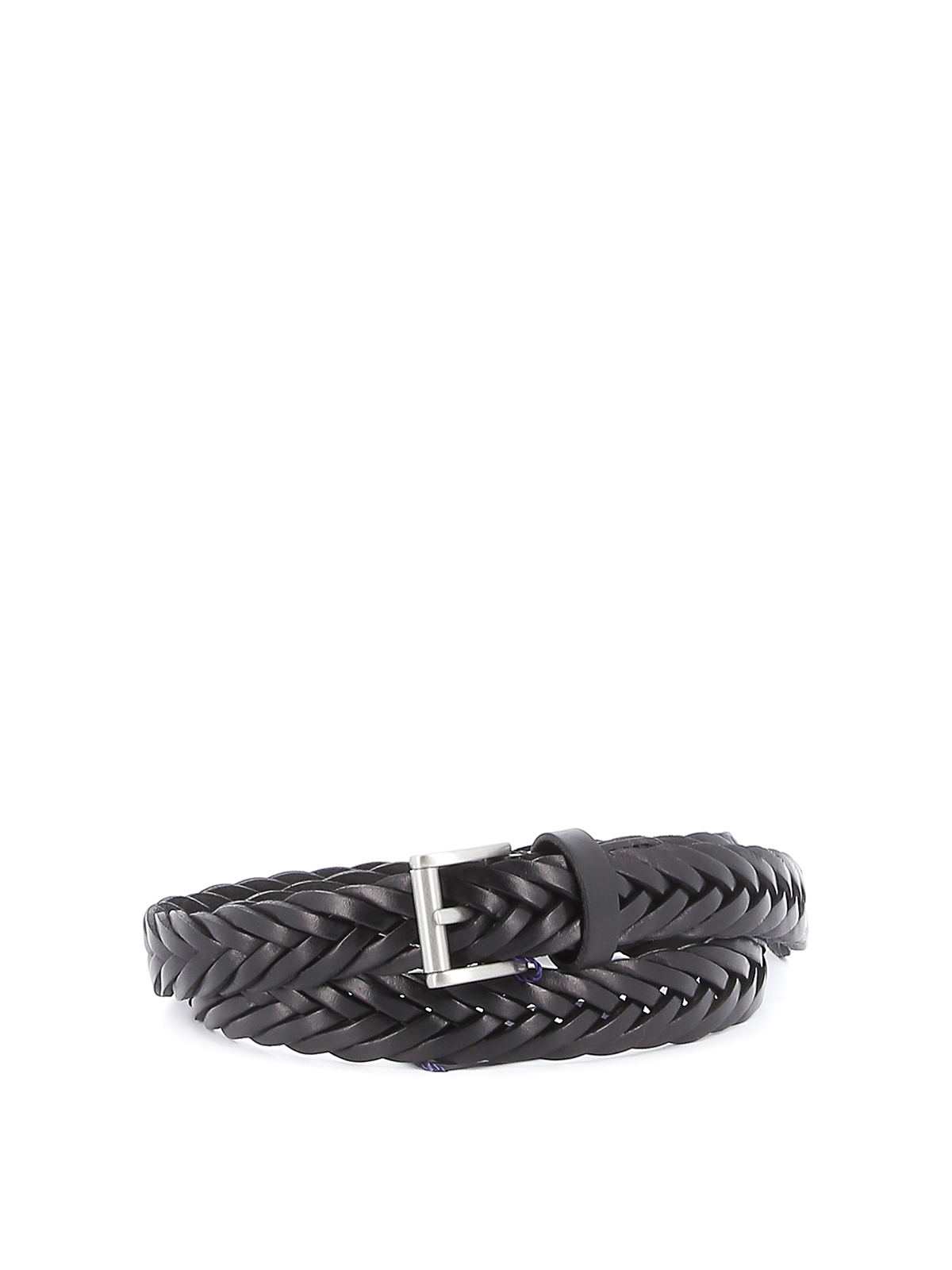 Picture of Anderson`S   Leather Braid Belt