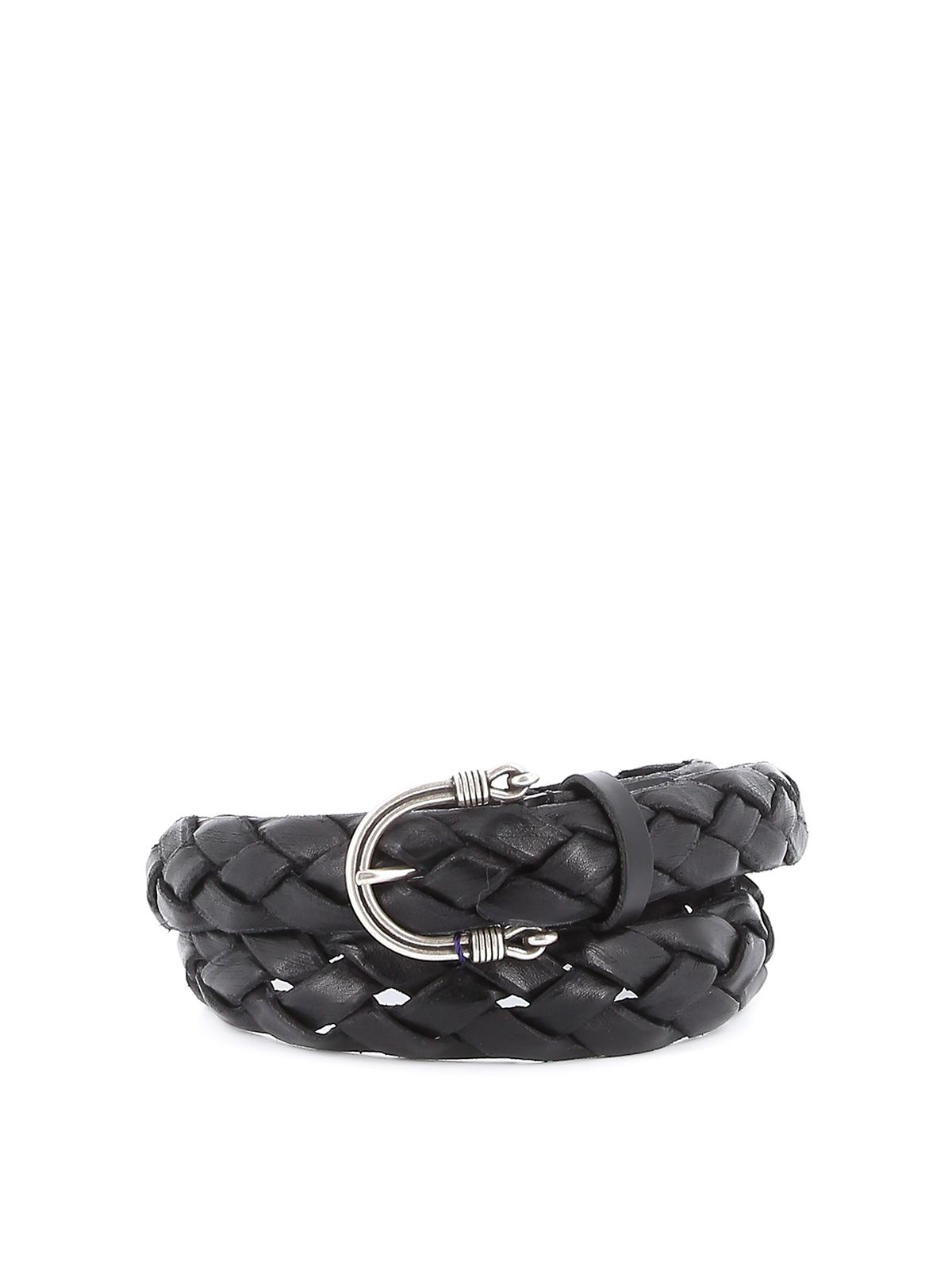 Immagine di Anderson`S | Leather Braid Belt